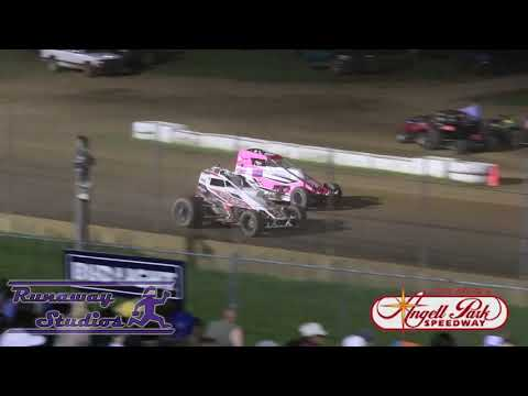 Midwest Sprintcar Association at Angell Park Speedway - 7/7/2019