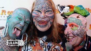NGERII ! 5 Orang Ini Mengubah Wajahnya Menjadi Mirip Binatang