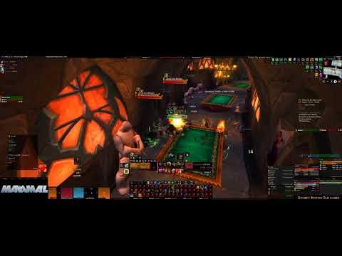 World of Warcraft Mythic + 17, Lower karazhan, - Guardian druid POV.