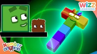 Numberblocks - NEW EPISODES! | Making Shapes | Learn to Count | Wizz Learning
