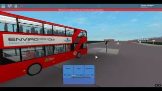 Roblox Londra Hackney & Limehouse bus Simulator Enviro 400H città CT Plus Route 26 a Cambridge Heath