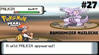 Pokémon Pearl Randomizer Nuzlocke LP | Ep 27 | Legendary Palkia Battle!