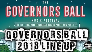 Governors Ball 2018 Line Up Announced!