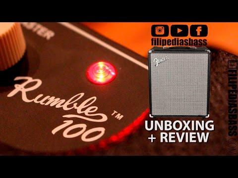 Fender Rumble 100 - Unboxing + Review