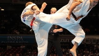 THE 10th WORLD KARATE CHAMPIONSHIP Men 4th round Dmitrij Aleksandro...