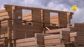 видео Деревянные дома без единого гвоздя