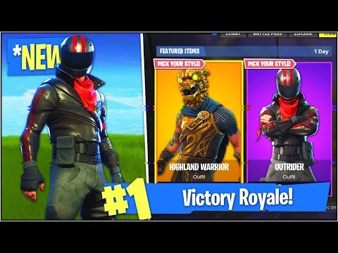 New Legendary Epic Skins In Fortnite Battle Royale New