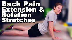 Back Pain Relief with Extension & Rotation Stretches - Ask Doctor Jo