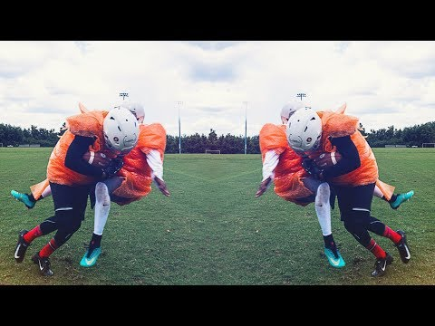 KNOCKOUT BUBBLE WRAP FOOTBALL! (PART 2)