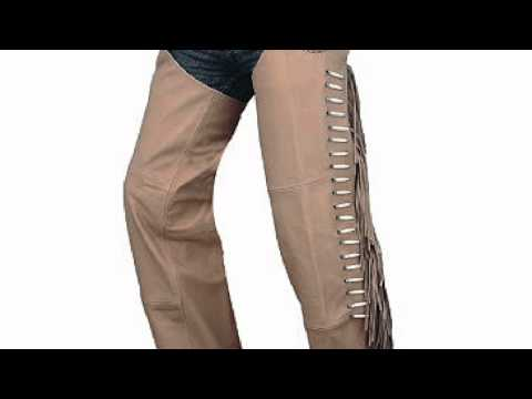 Leather Chaps for women custom made
