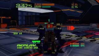 Xbox360 電脳戦機バーチャロン・オラトリオタングラム 対戦動画5