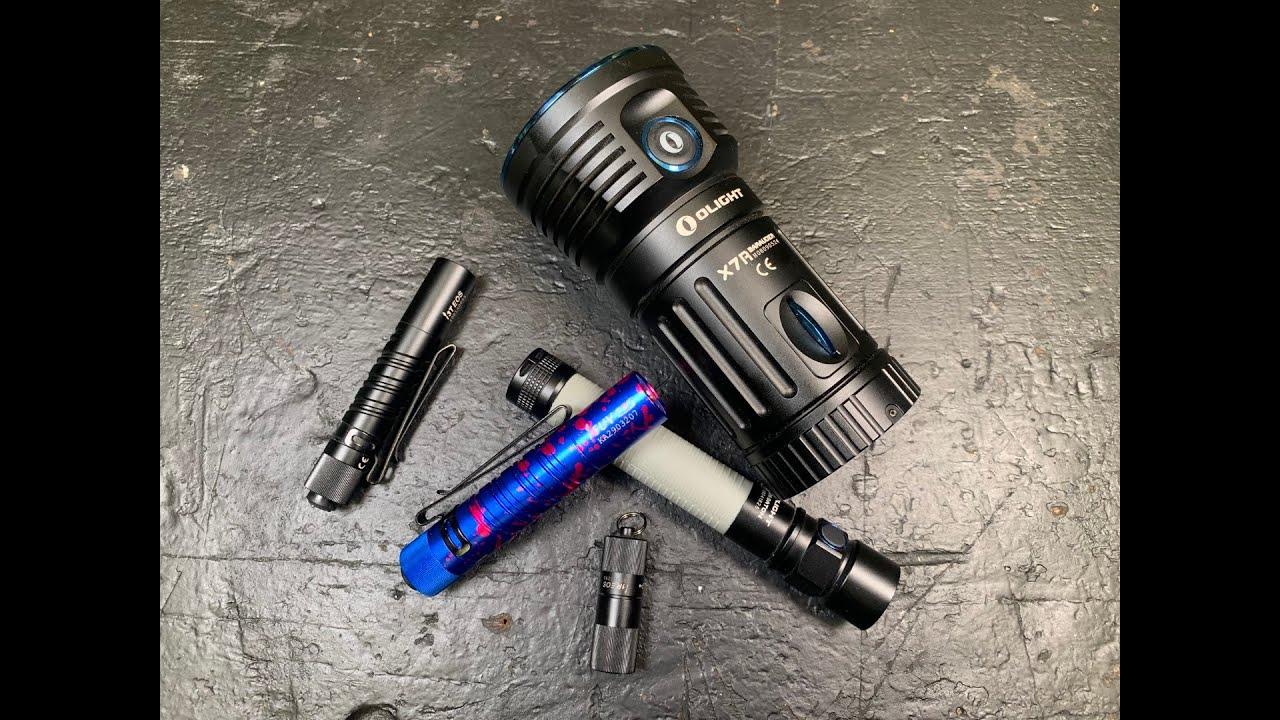 OLIGHT I5UV EOS High efficiency 365nm Ultraviolet LED Flashlight Portable Light
