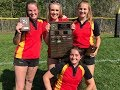 WCSSAA - KCI Raiders win the girls rugby title