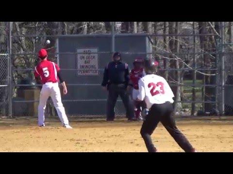 Morris County School of Technology Varsity Baseball Game 04132016