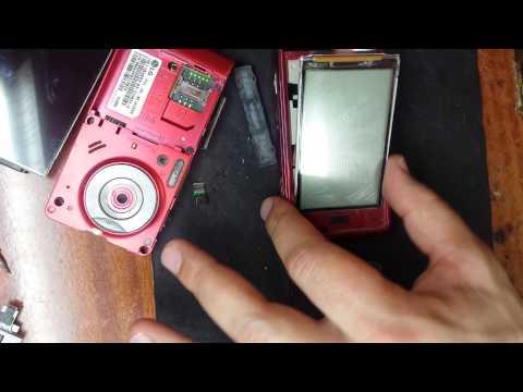 LG KU990 Viewty меняем LCD