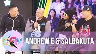 Andrew E, Salbakuta talk about their names