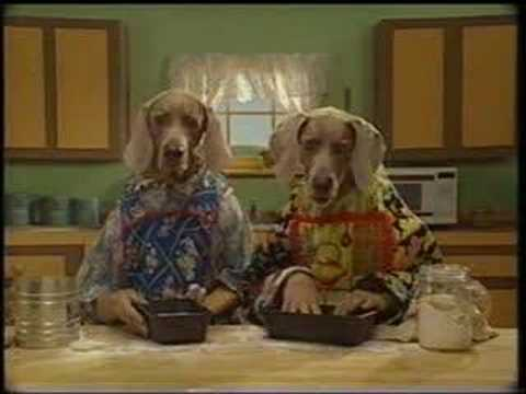 Sesame Street - Dogs bake homemade bread
