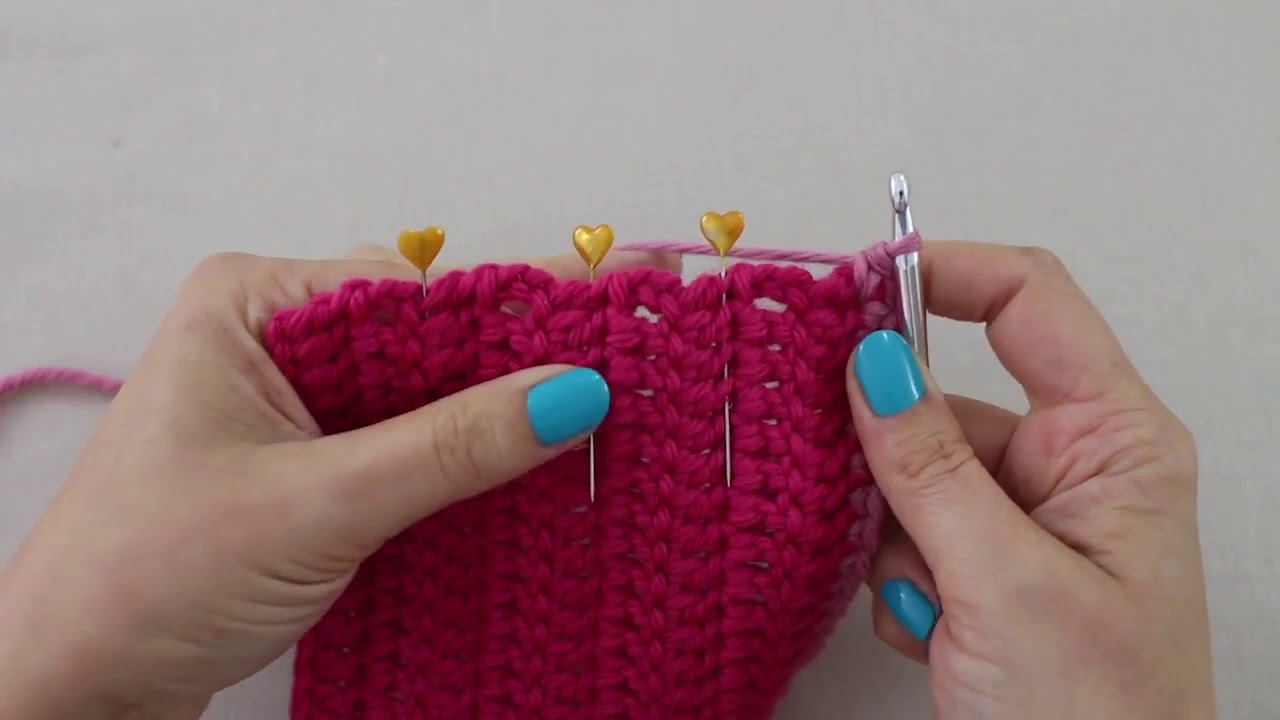 Simple Stylish Häkel-Tutorial: Muster 1 & 2: Häkelkanten aus festen ...