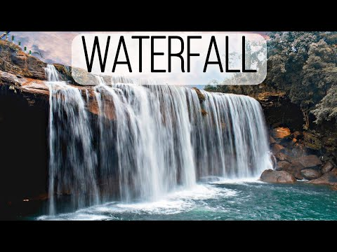 Beautiful Relaxing Music for Sleep and Stress Relief to the Sound of a Waterfall