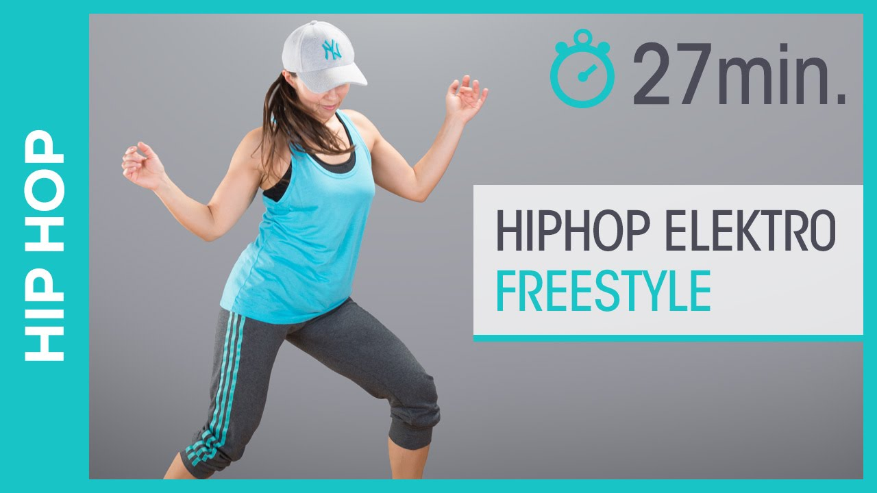 Hip Hop Elektro Freestyle Dance Workout Tanzen lernen