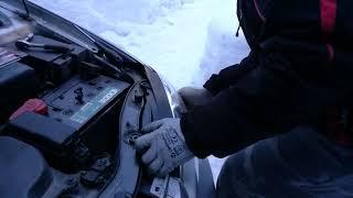 Kia Cerato 2008 замена габаритной лампочки