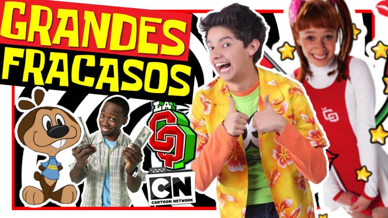 LOS GRANDES FRACASOS OLVIDADOS DE CARTOON NETWORK