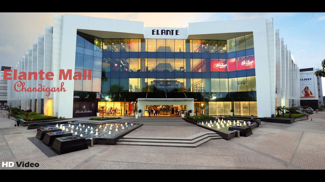 Elante Mall Chandigarh L T Largest Tourist Places In