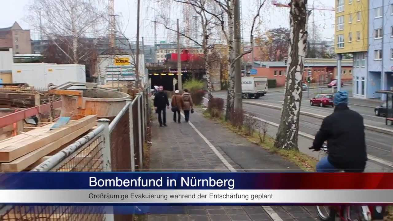 Bombenfund Nürnberg