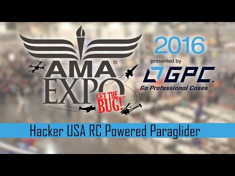 Hacker USA RC Powered Paraglider - AMA Expo 2016