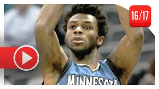 Andrew Wiggins Full Highlights vs Nuggets (2017.02.15) - 40 Pts, CRAZY POSTER DUNK!