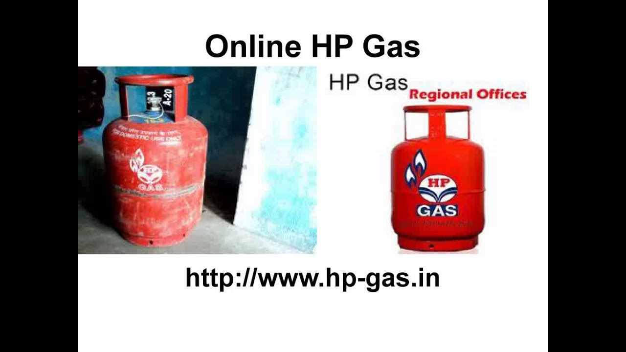 HP Gas Online Booking - YouTube