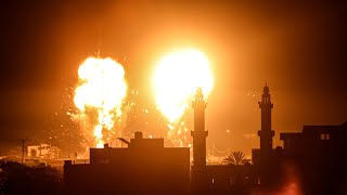 video: Israel launches air strikes in Gaza after Hamas fires incendiary balloons