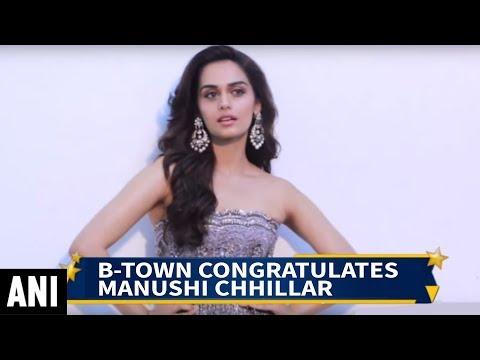 B-Town congratulates Manushi Chhillar on winning Miss World crown