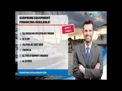 Subprime Equipment Financing 1