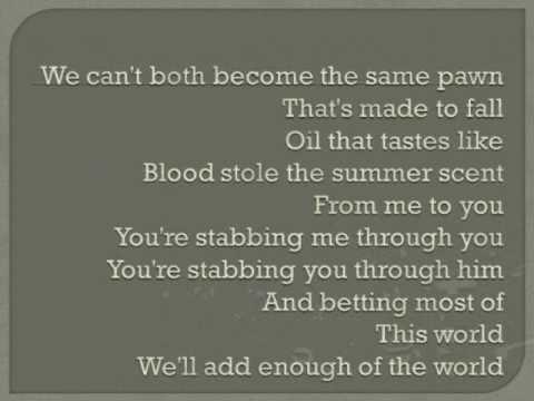 Jars by Chevelle w/lyrics