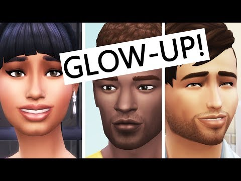 TEEN to YOUNG ADULT Makeover! The Sims 4 Parenthood
