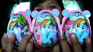 Yeyy!! Dapat Hadiah Surprise Egg My Little Pony dari Mama Berhadiah Mainan Anak Lucu Murat