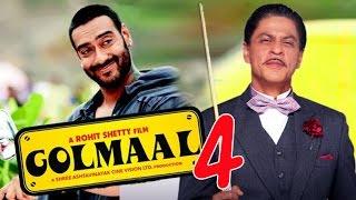 Shah Rukh and Ajay Devgan in Golmaal 4
