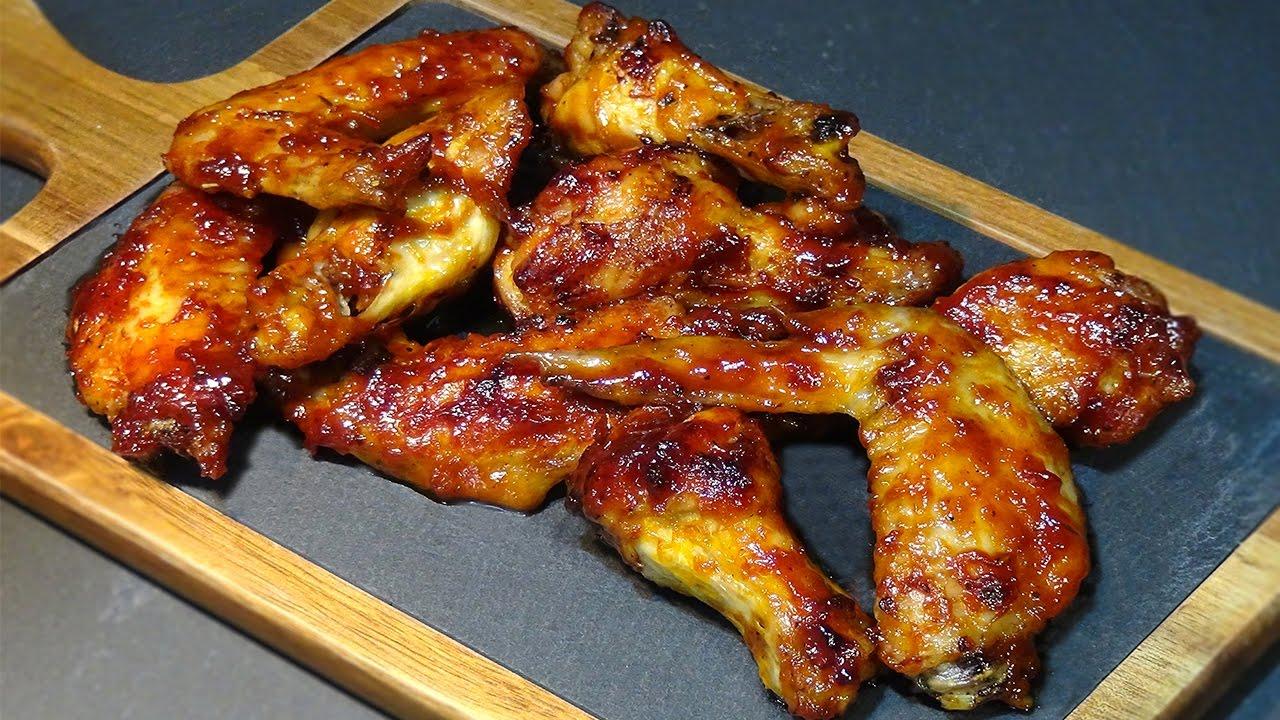 Alas de pollo barbacoa