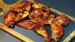 Receta Alitas de pollo al horno con salsa barbacoa o BBQ casera - Recetas de cocina
