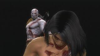 Mortal Kombat 9 Komplete Edition - All Fatalities on Flesh Pit Mileena (HD)