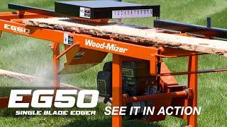 Wood-Mizer EG50 Single Blade Board Edger