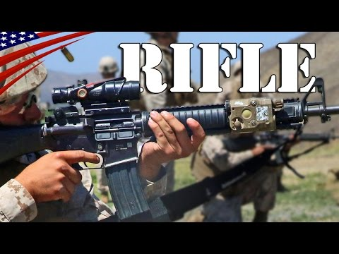 US Marines M4 & M16A4 Rifle Marksmanship: Close Range & Long Range - アメリカ海兵隊ライフル射撃訓練・至近距離 & 長距離
