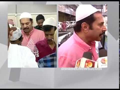 Mammootty and Dulquer Salmaan at Eid Gaah Kadavanthra Kochi