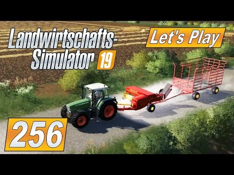 #LS19 256 Kleine HD Ballenpresse mit Anhänger #Landwirtschaft Farming Simulator 19