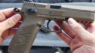 Airsoft ASG CZ P0-9 Review