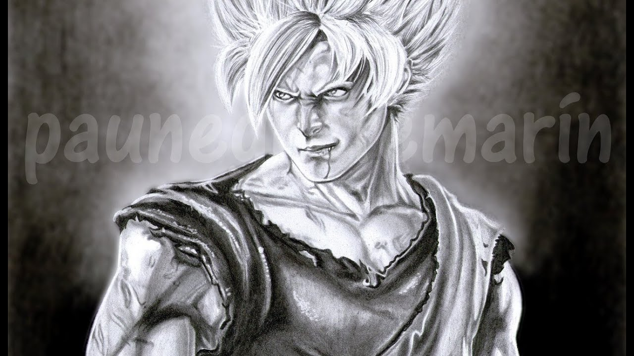 Dibujo Goku A Lapiz