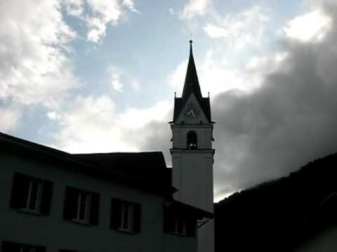 Plenum kath. Kirche in Schluein bei Ilanz (GR) Schweiz