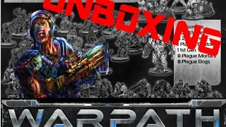 Warpath Plague Battle Group Unboxing and Extras!