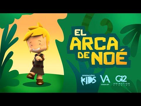EL ARCA DE NOE 🦒🐘🦍 (Para niños - Cancion Infantil) | PEQUEÑOS HEROES